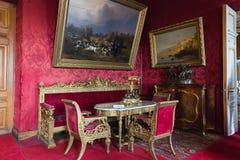 Wnętrze Vladimir pałac Ja był ostatnim cesarskim pałac Obraz Stock