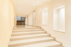 Wnętrze, wielki korytarz Obraz Royalty Free
