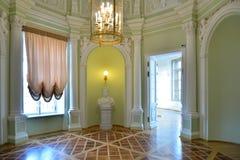 Wnętrze wierza rotunda pod rękami przy G Zdjęcie Royalty Free