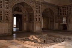 Wnętrze Złoty pawilon w forcie Agra Zdjęcie Royalty Free