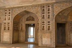 Wnętrze Złoty pawilon w forcie Agra Obraz Royalty Free