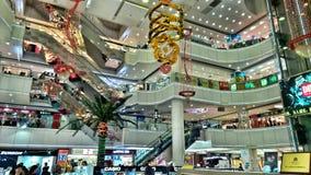 Wnętrze zakupy centrum handlowe w Chiny fotografia royalty free