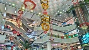Wnętrze zakupy centrum handlowe w Chiny obrazy royalty free