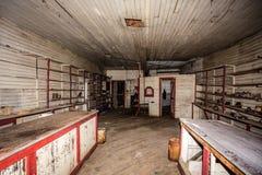 Wnętrze zaniechany kraj zdjęcia stock