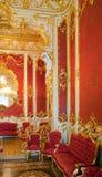 wnętrzy pałac zima zdjęcia royalty free