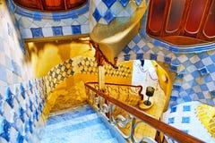 Wnętrza domowy Casa Batlo Zdjęcia Royalty Free
