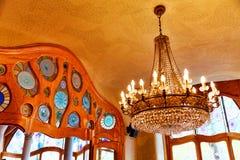 Wnętrza domowy Casa Batlo Zdjęcie Royalty Free
