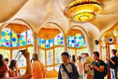 Wnętrza domowy Casa Batlo Obrazy Royalty Free