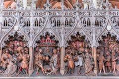 Wnętrza katedra Amiens, France Zdjęcie Royalty Free