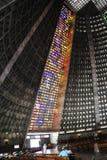 Wnętrza katedra Rio De Janeiro (San Sebastian) Obraz Stock