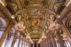 Wnętrza Royal Palace, Bruksela, Belgia obrazy stock