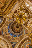 Wnętrza St Isaac katedra Fotografia Royalty Free