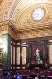 Wnętrze Ajuntament de Barcelona ja Fotografia Royalty Free