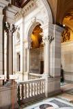 Wnętrze Ajuntament de Barcelona w Barcelona, Catalonia Obrazy Royalty Free