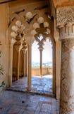 Wnętrze Alcazaba Malaga, Hiszpania Zdjęcie Royalty Free
