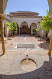 Wnętrze Alcazaba Malaga, Hiszpania Obraz Stock