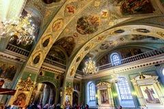 Wnętrze Annunciation katedra Kazan Kremlin fotografia stock