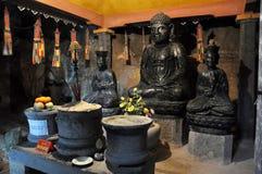 Wnętrze Bich Dong pagoda, Ninh Binh, Wietnam Zdjęcia Royalty Free
