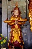 Wnętrze Bich Dong pagoda, Ninh Binh, Wietnam Zdjęcie Royalty Free