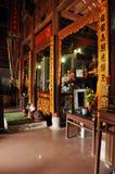 Wnętrze Bich Dong pagoda, Ninh Binh, Wietnam Zdjęcia Stock