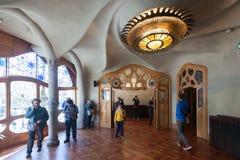 Wnętrze Casa Batllo Obrazy Stock