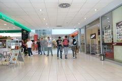 Wnętrze centrum handlowe Fotografia Royalty Free
