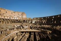 Wnętrze Colosseum obrazy stock