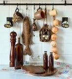 Wnętrze, czerep, kuchnia Zdjęcia Royalty Free