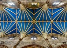 Wnętrze dach St Giles katedra Fotografia Royalty Free