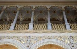 Wnętrze erem w St Petersburg, Rosja Fotografia Royalty Free
