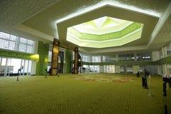 Wnętrze GBI zieleni platyny Cyberjaya meczet w Cyberjaya, Malezja Obraz Royalty Free