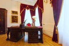 Wnętrze gubernatora dom w Yaroslavl Zdjęcia Stock