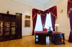 Wnętrze gubernatora dom w Yaroslavl Obrazy Stock