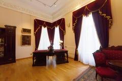Wnętrze gubernatora dom w Yaroslavl. Rosja Obraz Royalty Free