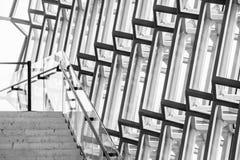 Wnętrze Harpa filharmonia w Reykjavik, Iceland Zdjęcia Stock
