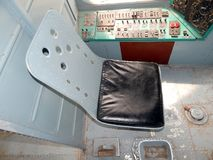 Wnętrze helikopter, wnętrze Obrazy Royalty Free