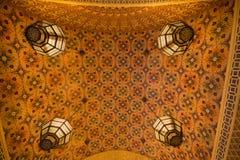 Wnętrze Ibn Battuta centrum handlowego sklep Zdjęcia Royalty Free
