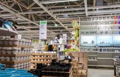 Wnętrze IKEA Samara sklep Fotografia Royalty Free