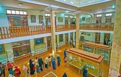 Wnętrze Khachatur Kesaratsi muzeum w Isfahan, Iran Fotografia Royalty Free