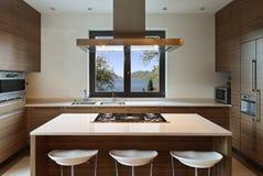Wnętrze, kuchnia Fotografia Stock