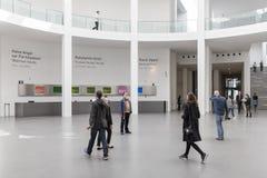 Wnętrze lobby pinakoteka Dera Moderne Obraz Royalty Free