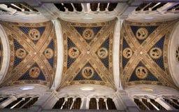 Wnętrze Lucca katedra Zdjęcie Stock