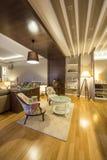 Wnętrze luksusowy mieszkanie Zdjęcie Stock