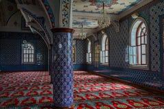 Wnętrze majestatyczny meczet przy Manavgat w Turcja Obrazy Royalty Free