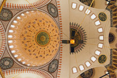 Wnętrze meczet w Istanbul Fotografia Stock
