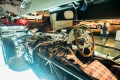 Wnętrze Mercedez Benz muzeum w Stuttgart Zdjęcia Stock