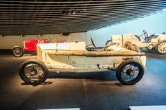 Wnętrze Mercedez Benz muzeum w Stuttgart Obraz Stock