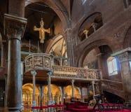 Wnętrze Modena katedra Fotografia Stock