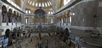 Wnętrze Morska Nikolsky katedra w Kronstadt zdjęcie royalty free