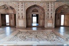 Wnętrze Musamman Burj w Czerwonym Agra forcie Zdjęcia Stock